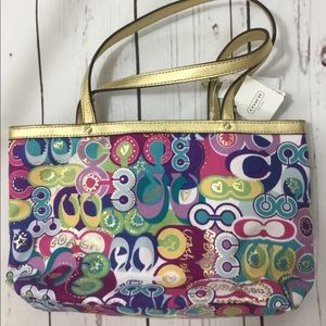 Coach Bag. Fun Print.